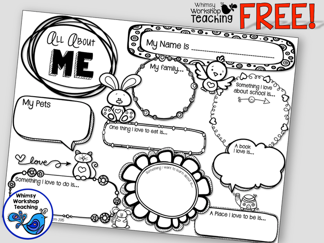 freebie all about me