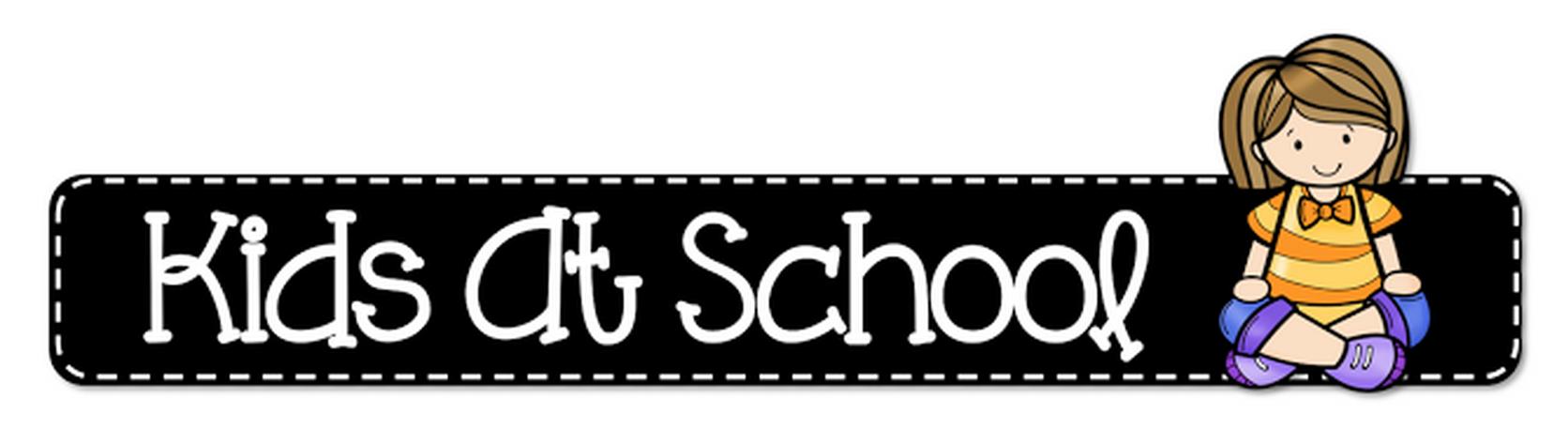 Header Clipart Kids At School