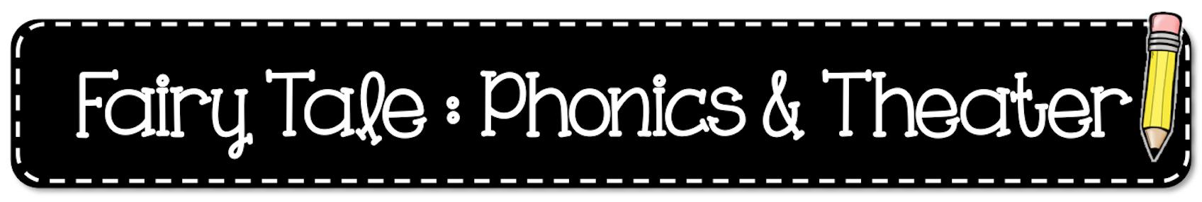 Header Literacy Fairy Tale Phonics Theatre