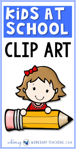 A big collection of kids at school clip art! Click to see the entire collection on one page.