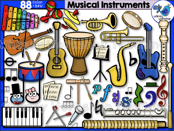 Little Kids Musical Instruments