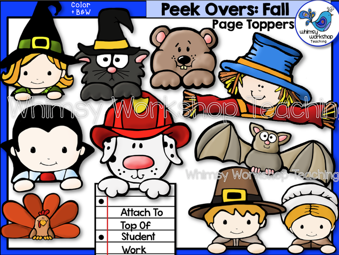 Peek-Overs - Fall