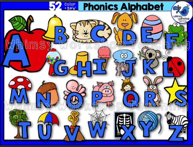 phonics alphabet whimsy workshop teaching Elementary Math Clip Art math clip art for kids black and white
