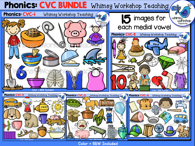 Phonics CVC Bundle