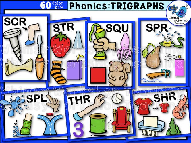 Phonics Trigraphs