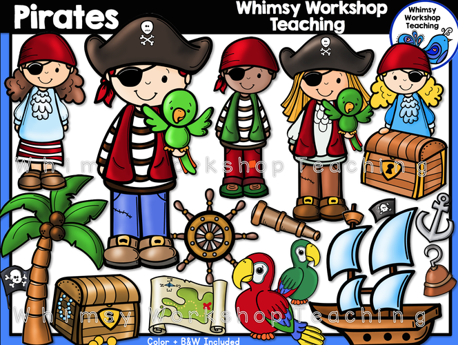 Little Kids Pirates
