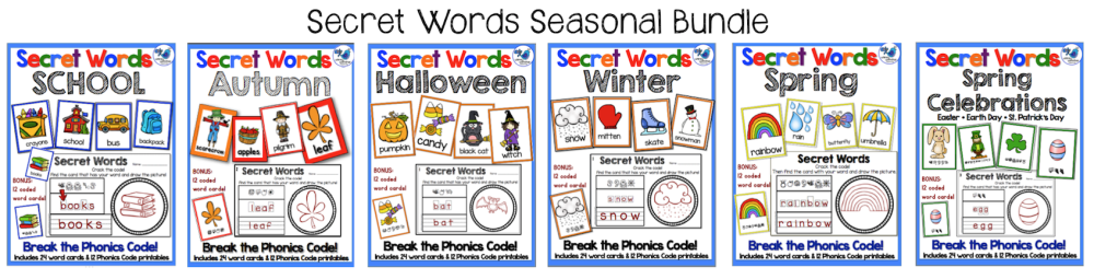 Secret Words Seasonal Bundle
