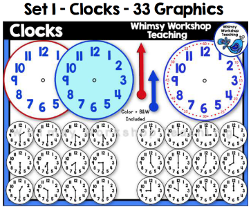 Set 1 - Clocks