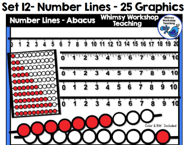 Set 12 - Number Lines