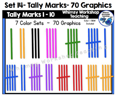 Set 14 - Tally Marks