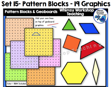 Set 15 - Pattern Blocks