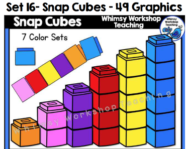 Set 16 - Snap Cubes