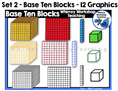 Set 2 - Base Ten Blocks
