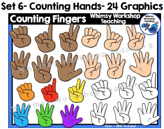 Set 6 - Counting Hands