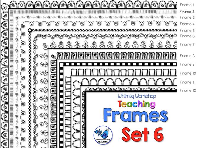Frames WWT Set 6