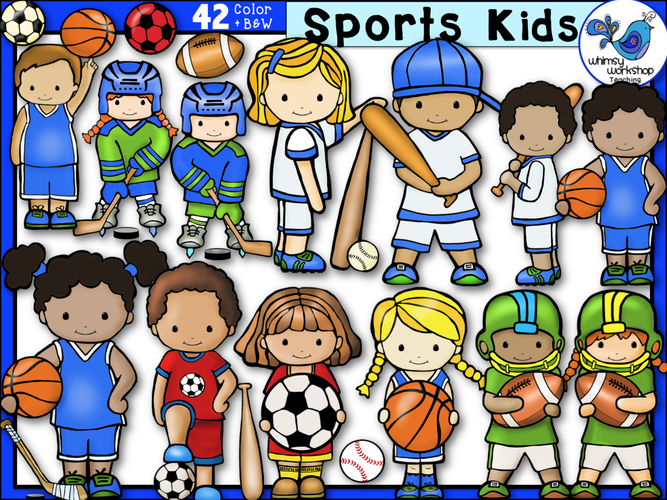 Little Kids Sports Kids