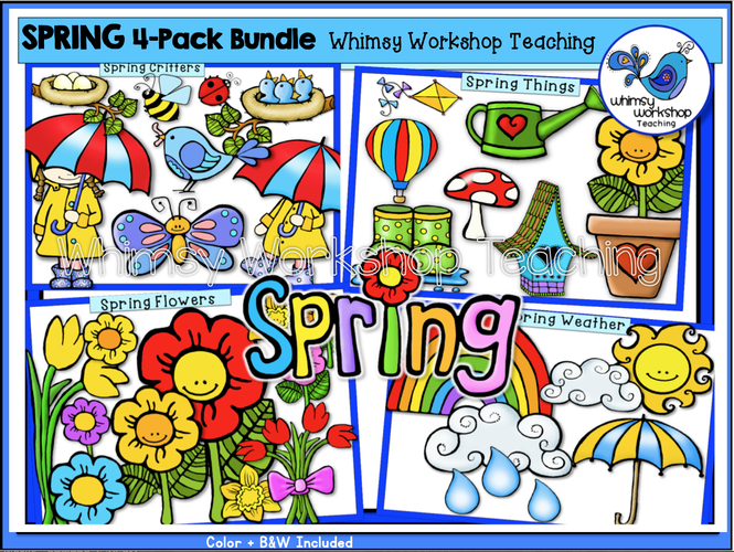 Spring 4-Pack Bundle