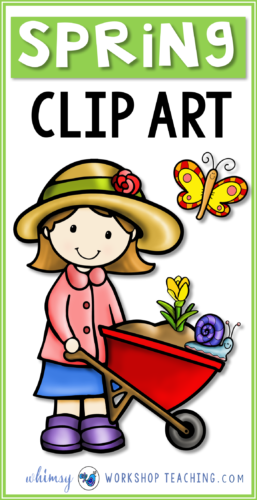 A big collection of SPRING clip art for teachers. Click to see the whole collection on one page!