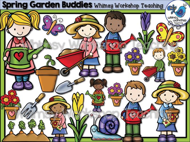Spring Garden Buddies