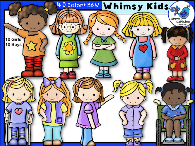 Little Kids Whimsy Kids