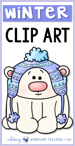 A big collection of WINTER clip art for teachers. Click to see the whole collection on one page!