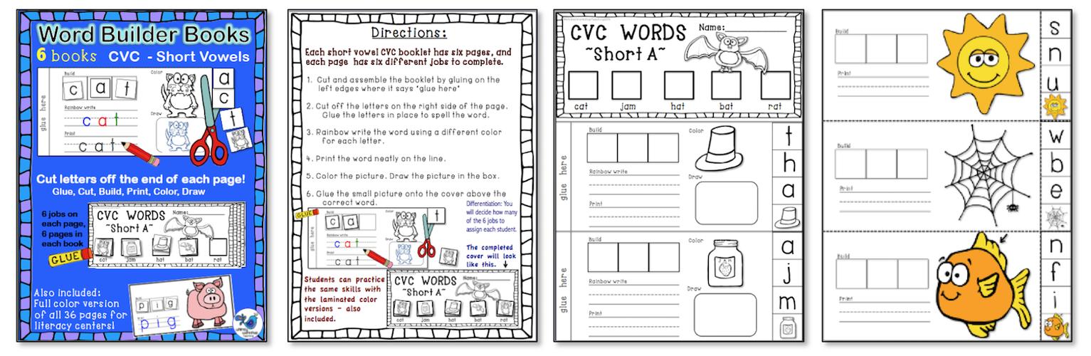 Word Builder Books