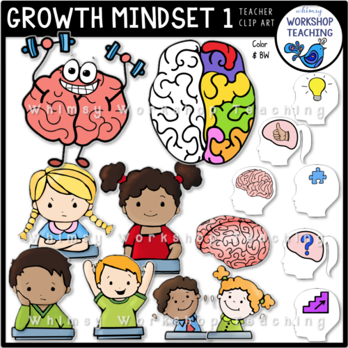 Growth Mindset 1 Clip Art WWT