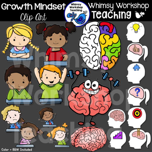 Growth Mindset Clip Art WWT