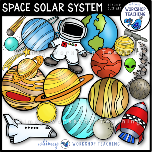 Space Solar System Clip Art WWT