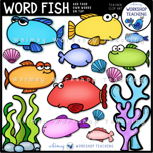 Word Fish Clip Art WWT
