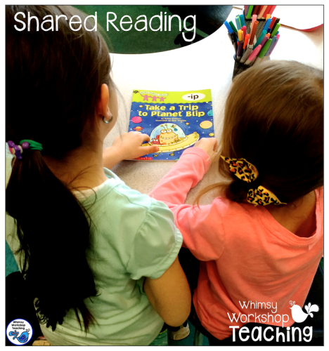 shared reading strategies