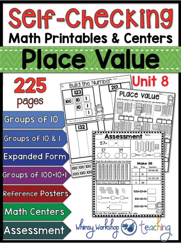 Place Value Whimsy Workshop Teaching