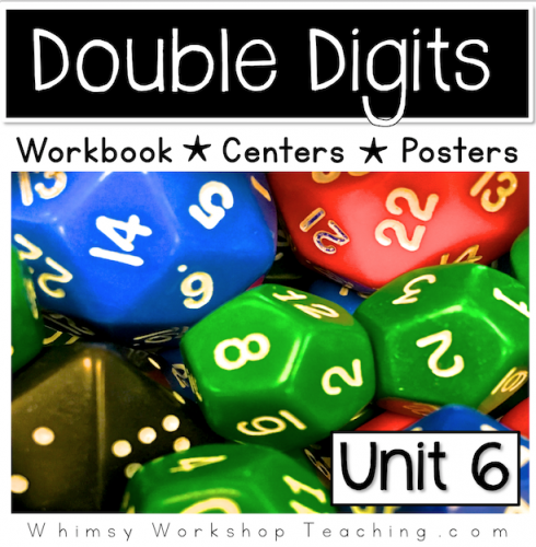 A comprehensive collection of math printables focusing on adding and subtracting double digits without regrouping Reference posters and hands on centers