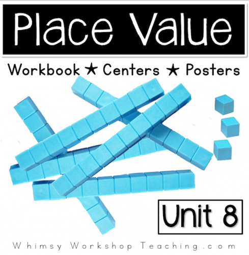 A comprehensive collection of math printables focusing on place value concepts. Reference posters and hands on centers