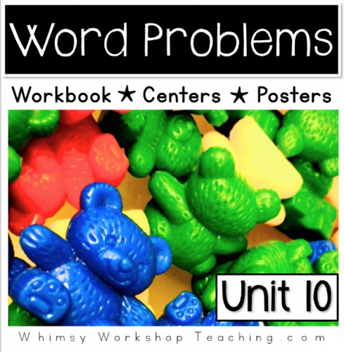 A comprehensive collection of math printables introducing students to word problems to 10. Reference posters and hands on centers