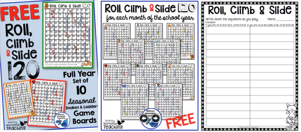 Seasonal Board Games FREE
