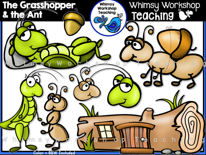 The Grasshopper & The Ant