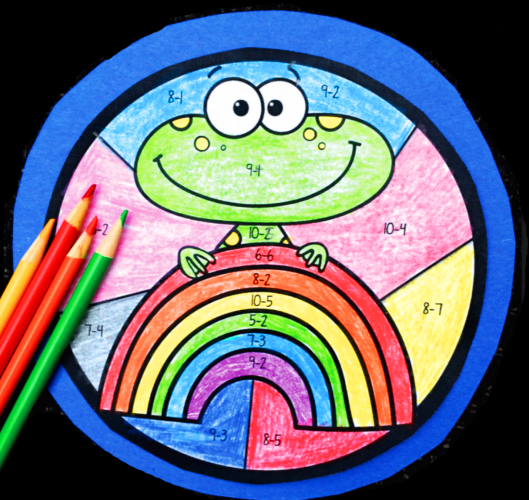 Colorful Math - Integrate core math practice, literacy and art through the year