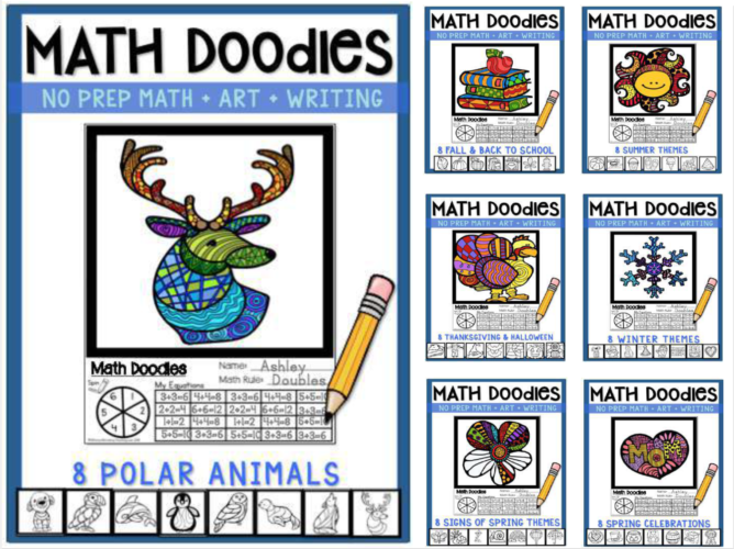 Math Doodles Bundle