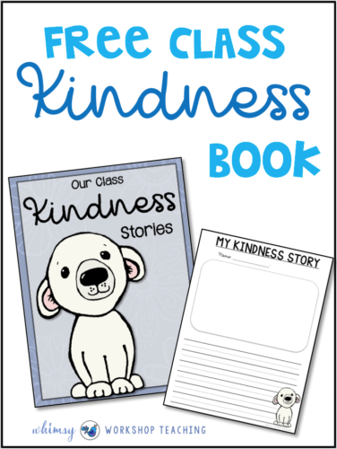 Random Acts of Kindness Writing Class Books Templates