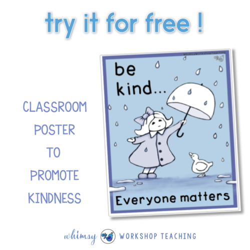 Free Kindness Poster