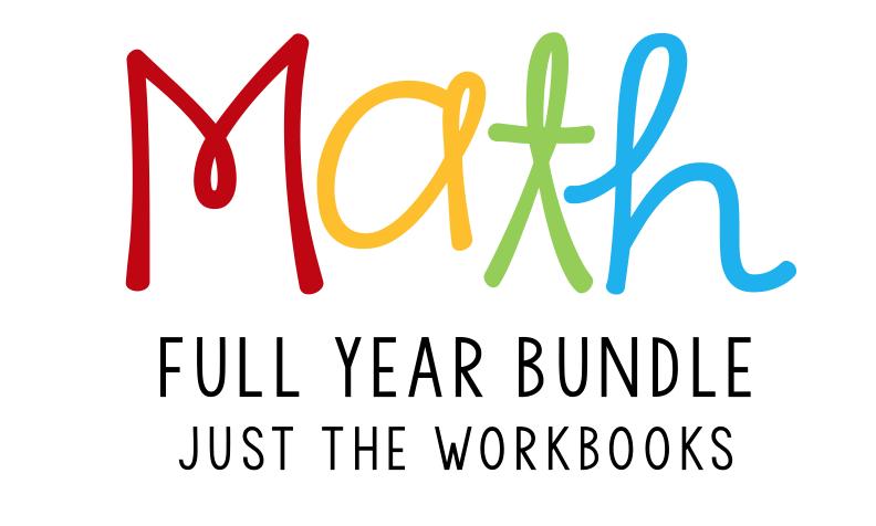 math workbooks header