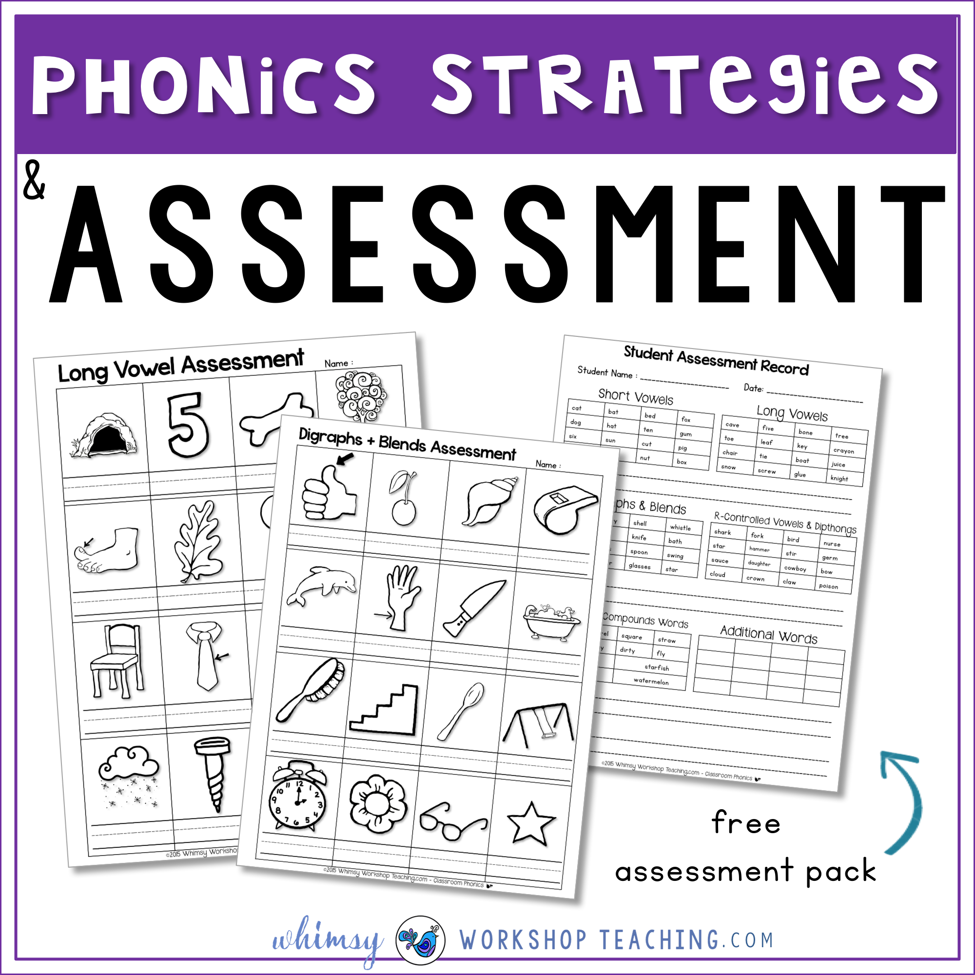phonics strategies and assessment ideas