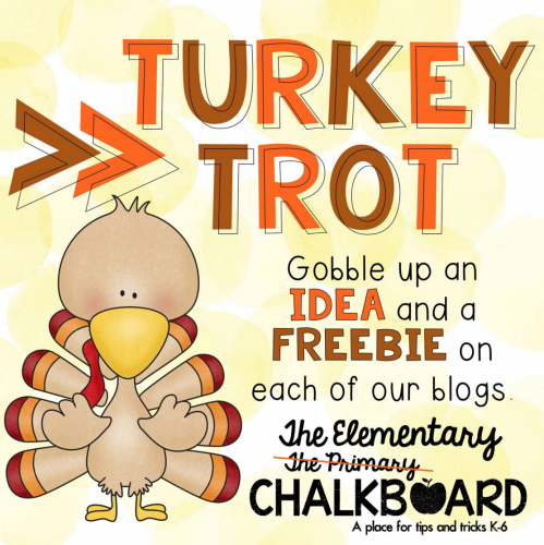Turkey Trot Ideas and Freebies HOP