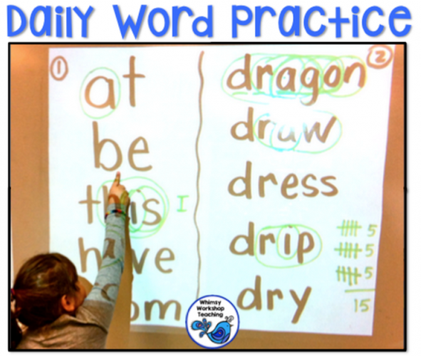 18 Sight Words Strategies and Resources - Whimsy Workshop Teaching