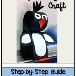 3D Penguin Craft Tutorial and Stand UPs