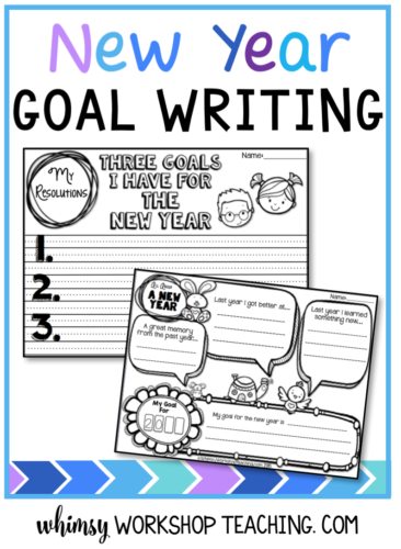 writing templates for the new year free whimsy workshop teaching