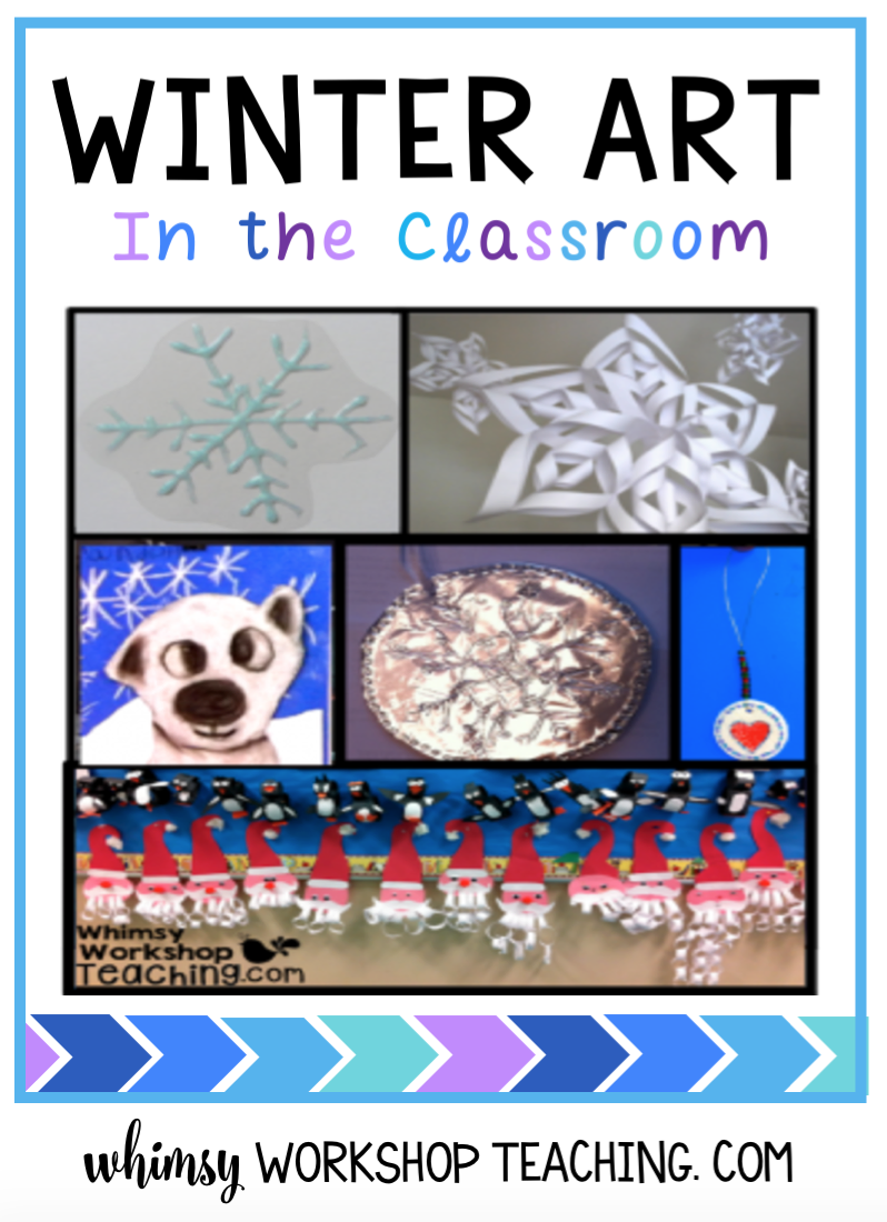 Lots of ideas for winter crafts in the classroom