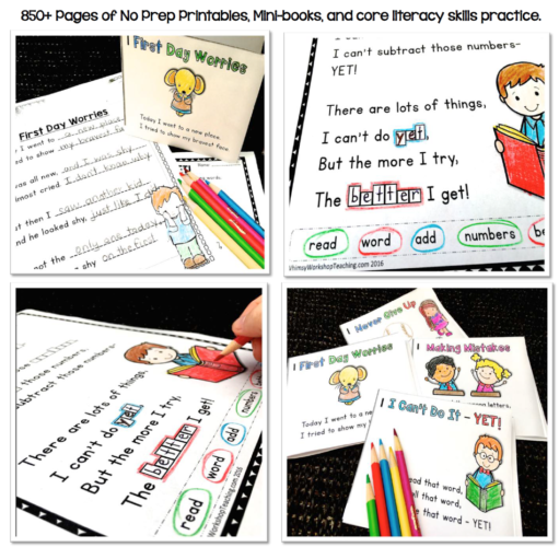 Poem of the Week BUNDLE will help students explore poetry with 34 cute poems and 12 activities each