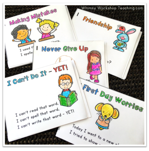 Poem of the week mini-books are a great way to keep practicing literacy through the whole year!